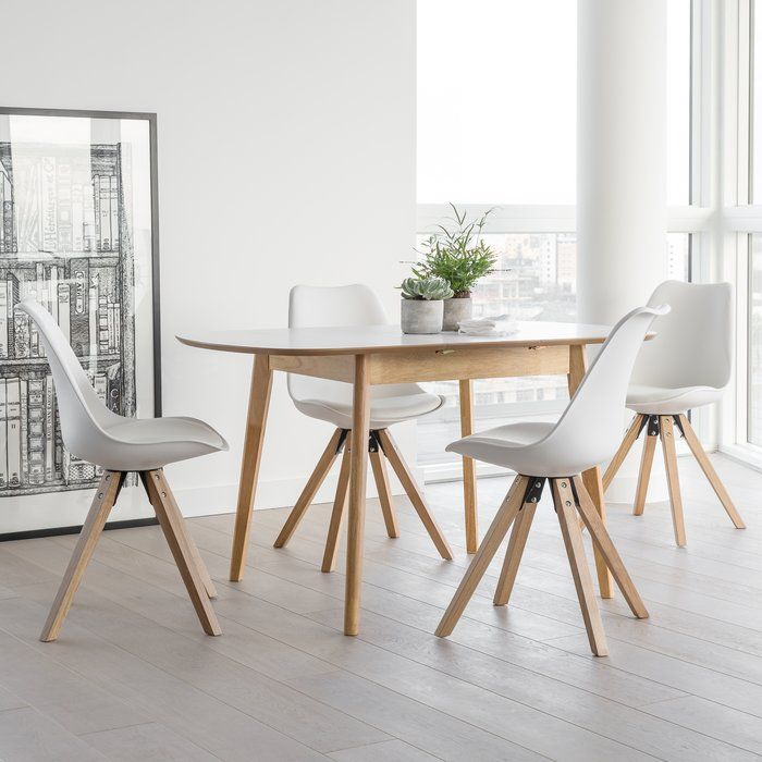 Wasdale Dining Set with 4 Chairs in 2019 Extendable