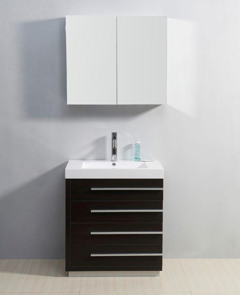 30 Bathroom Vanity Virtu Usa Bailey 30 Single Bathroom Vanity In ...