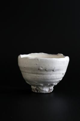 Tea bowl, Kohiki style- Nakamura