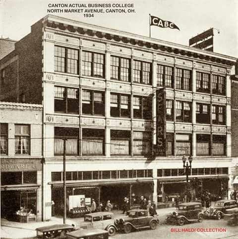 Sears Building Canton Ohio Canton Ohio Ohio History Ohio Usa
