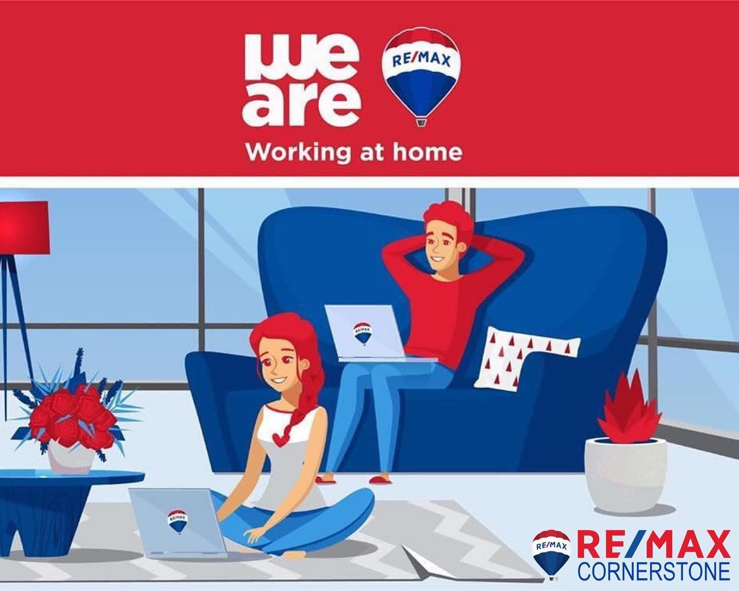 We are virtually here for you or from 6 feet away  #stayathomesavelives #workfromhome #remaxworksforyou #remaxworkshardforyou #remaxrealestateagent  #realestateagents #realtorforyou #realestateinvesting