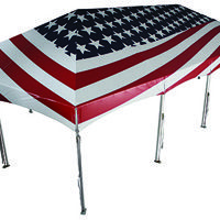 American Flag Tent  sc 1 st  Pinterest & American Flag Tent | Marketing Tents | Pinterest | Tents