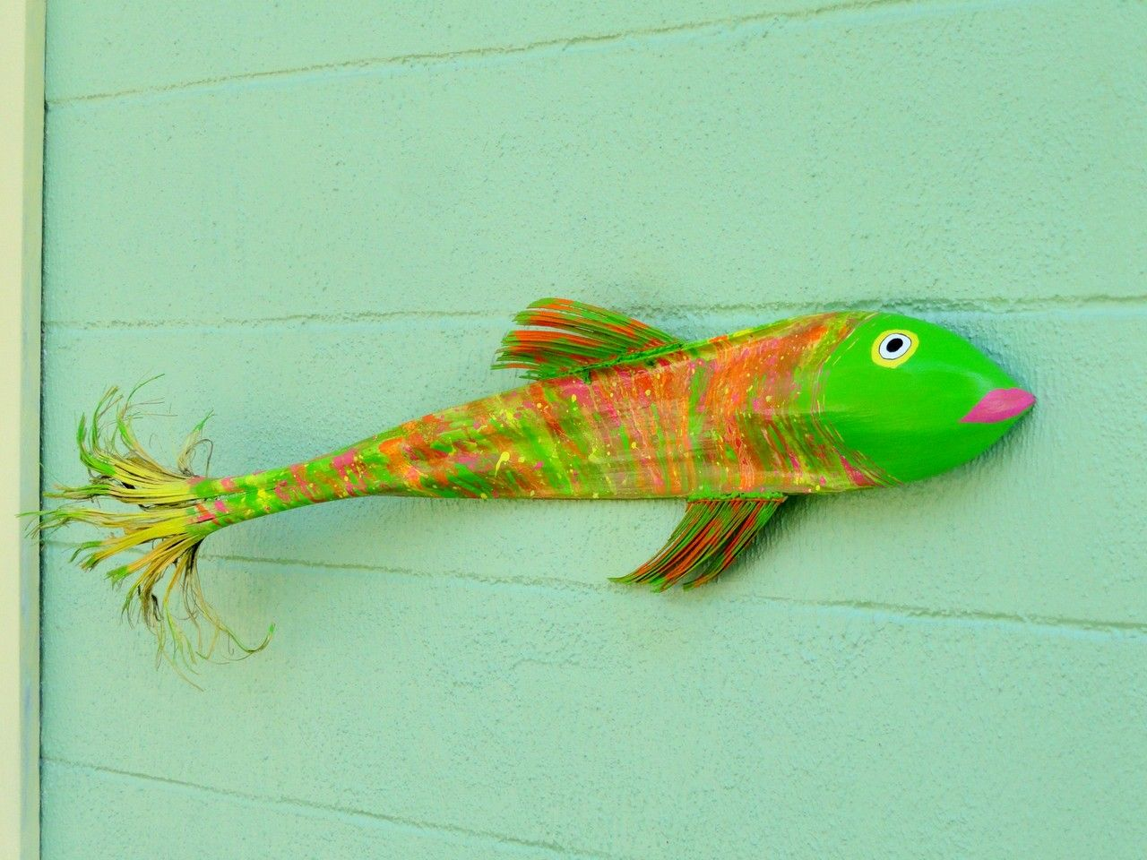 Frondastic #Palm #Frond #Fish  3ft of #Florida Fun #handmade #thecraftstar $58.00