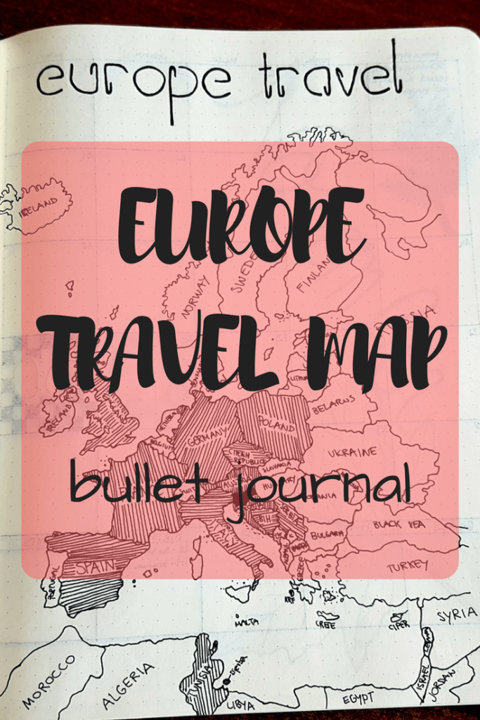 Europe travel map SWEET ODDS AND