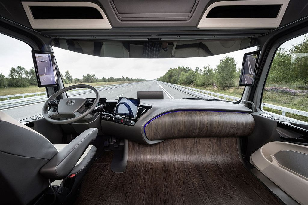 Mercedes Benz Future Truck 2025 With Images Truck Interior
