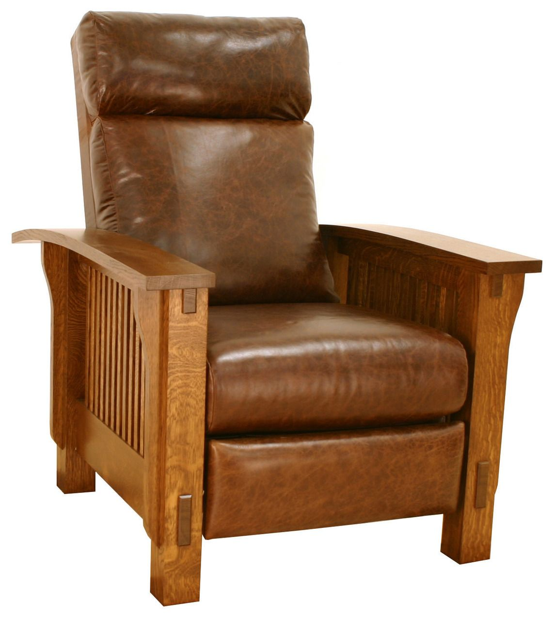 American Craft Furniture In Ontario: American Mission Spindle Morris Recliner 8X-1004-TC