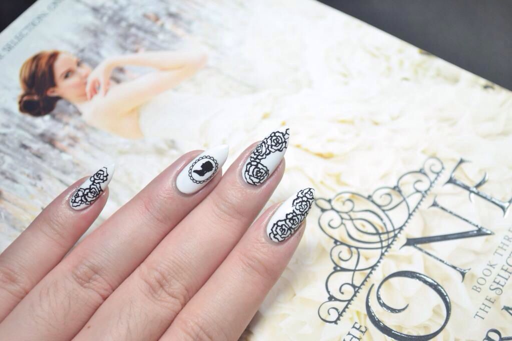 The One inspired nails