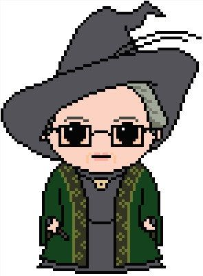 Harry Potter: Minerva McGonagall Chart Pattern by ShylahsBooksAndHooks