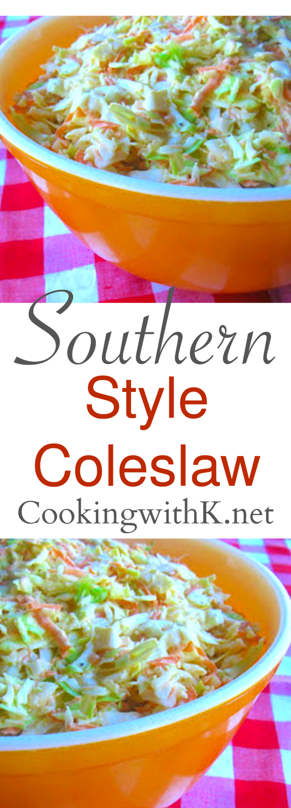 Style Coleslaw + How to make the dressing to go on it! {Granny's Recipe} This Southern Style Coleslaw is a quick and easy side dish served up with a lot of Southern dishes, BBQ, fried chicken and catfish.  A few simple ingredients are all you need.This Southern Style Coleslaw is a quick and easy side dish served up with a lot of Southern dishes, BBQ, fri...