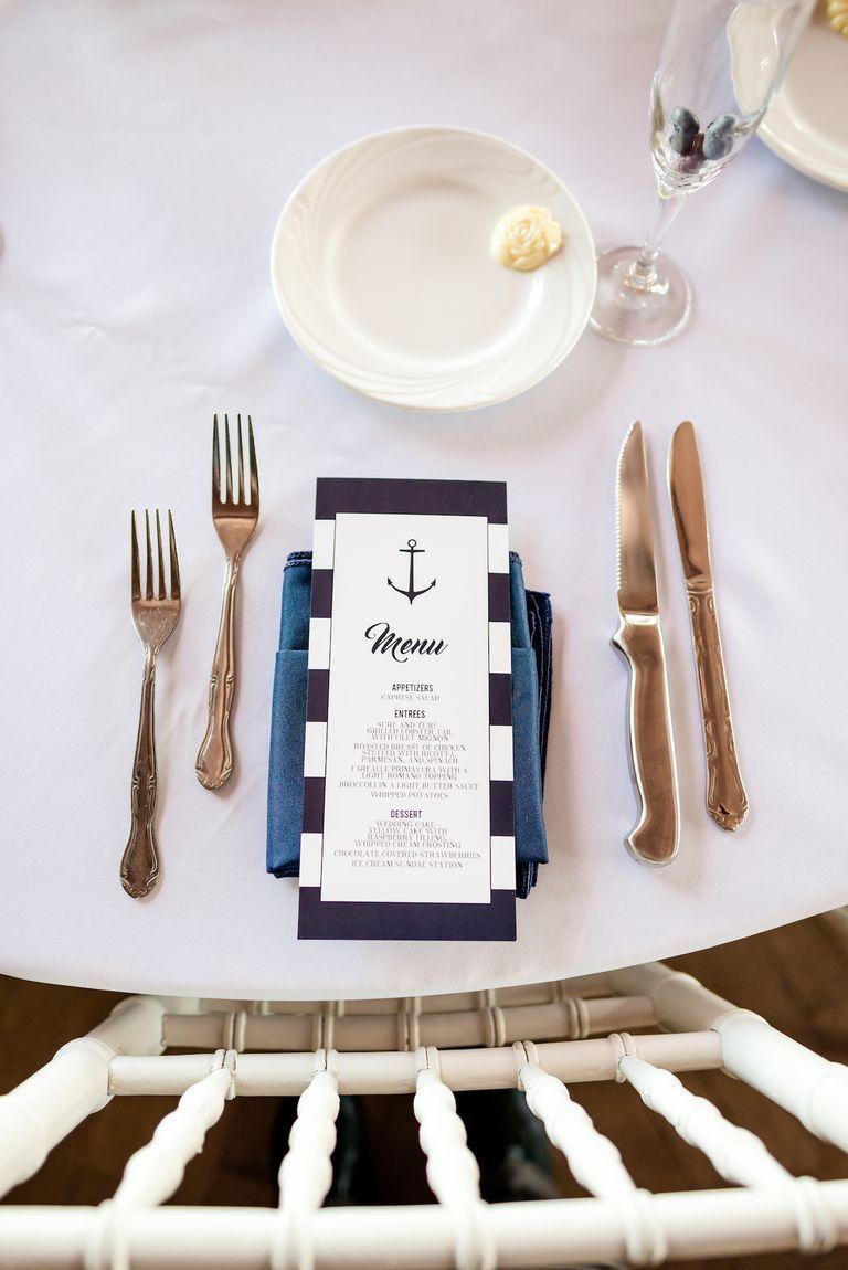 Blue wedding decor ideas   Best Navy Blue Wedding Decoration Ideas  Wedding Color Schemes