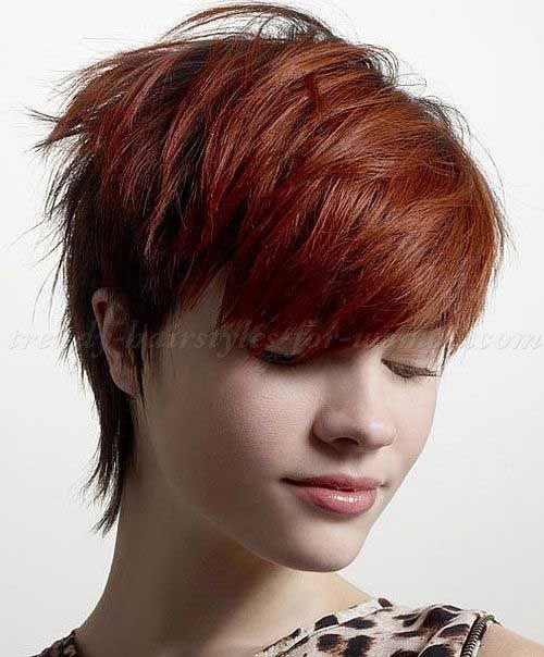Haare kurz geschoren frau