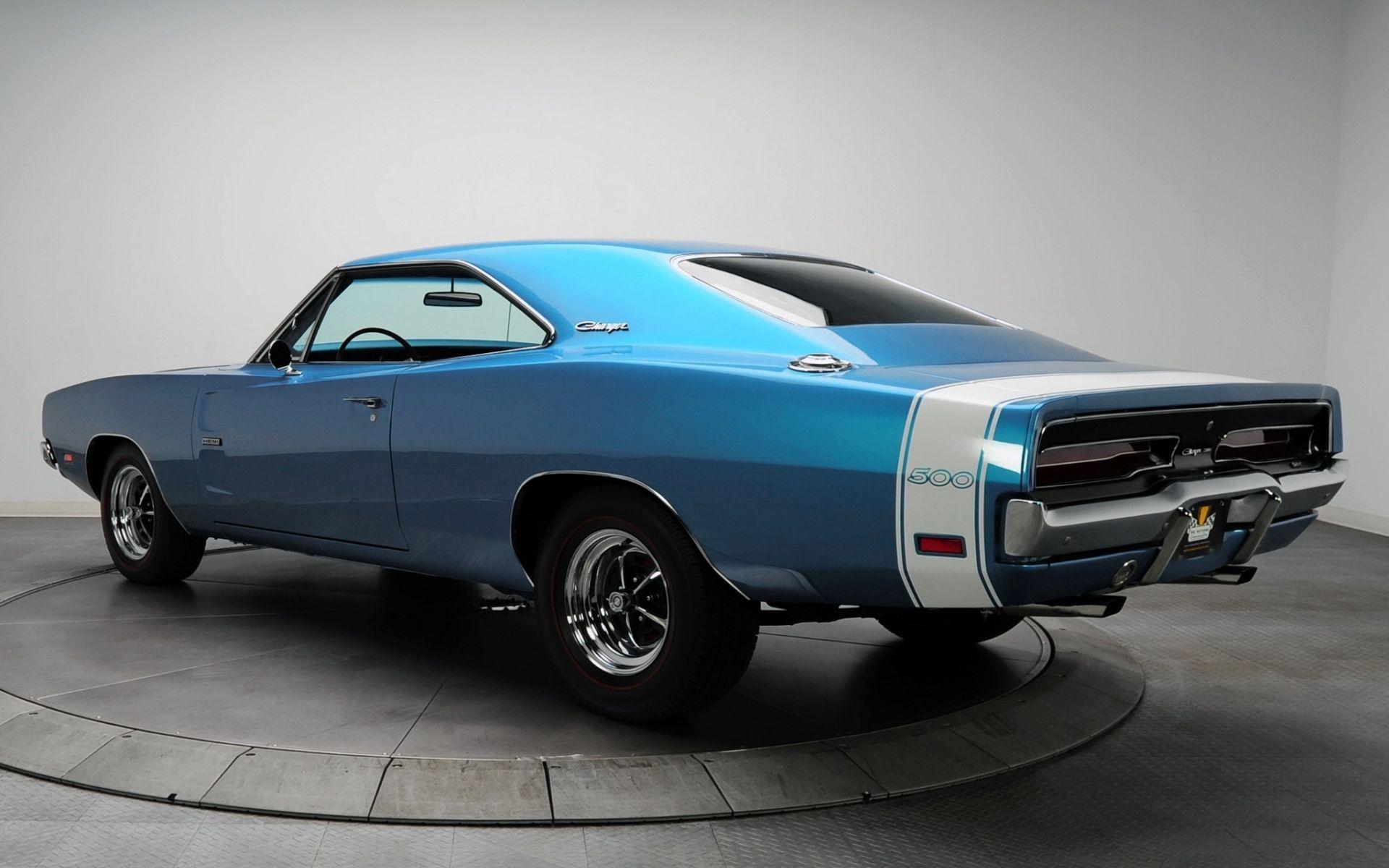 Dodge, charger, 500, hemi, 1969, додж, чарджер, вид сзади.синий ...