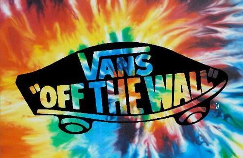Tumblr Static Vans Off The Wall Jpg Tye Dye Wallpaper Tie Dye Wallpaper Cute Lockscreens
