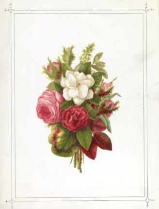 A Free Vintage Rose Bouquet For Mothers Day