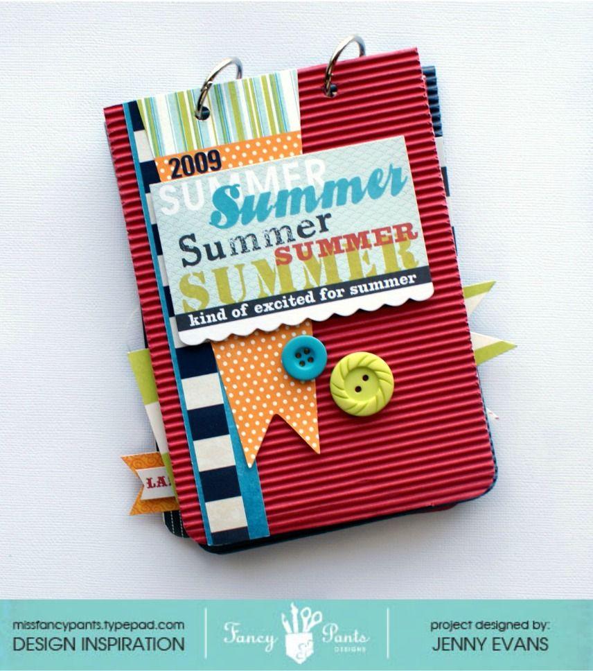 Summer Album *Fancy Pants Designs* - Scrapbook.com