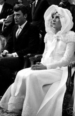 12 Avril 1965 Loconville Sylvie Vartan épouse Johnny