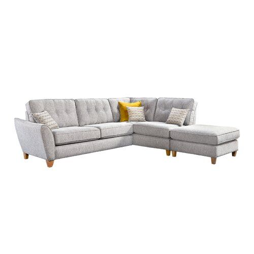 Awesome Gaelle Corner Sofa August Grove In 2019 Products Corner Theyellowbook Wood Chair Design Ideas Theyellowbookinfo