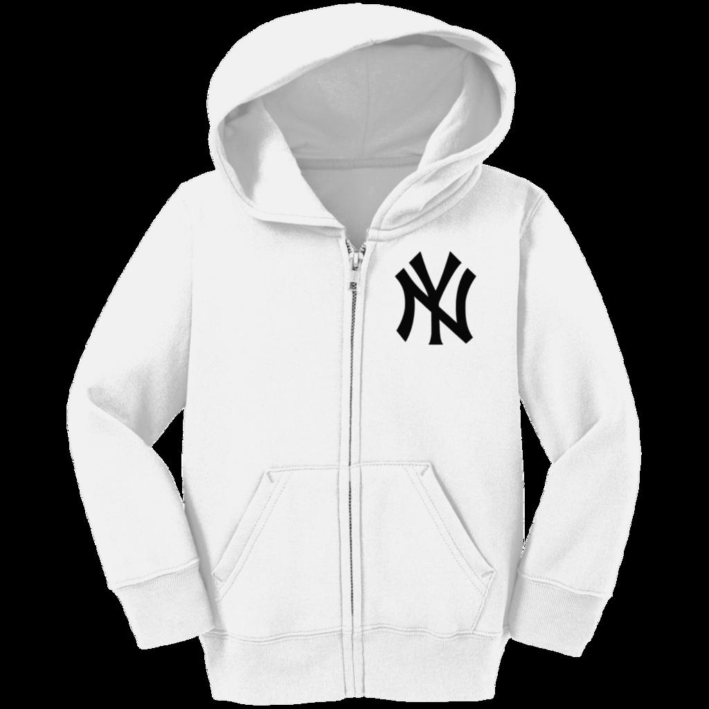 Official New York Yankees Precious Cargo Toddler Full Zip Hoodie Hoodies Hoodie Jacket Outfit New York Yankees Apparel [ 1024 x 1024 Pixel ]