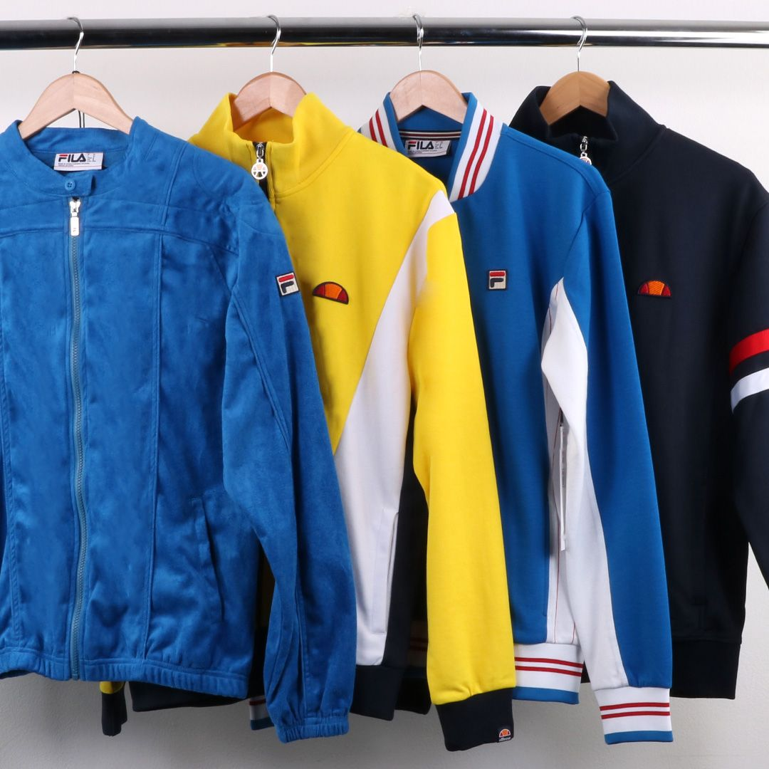 Classic old skool track tops online at 80s Casual Classics