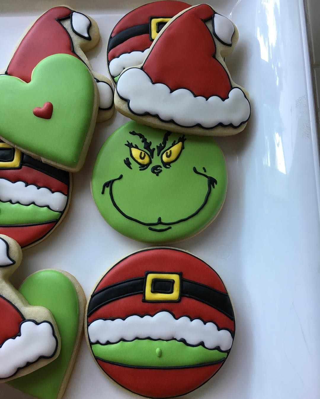 Instagram post by Teresa - Moorpark, CA • Dec 2, 2016 at 3:43pm UTC #grinchcookies