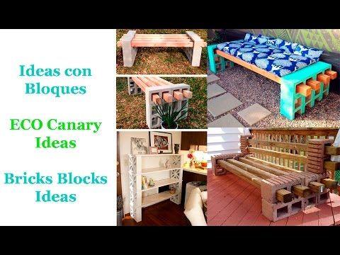 Ideas Bloques de Cemento / Bricks Blocks cement Ideas - YouTube