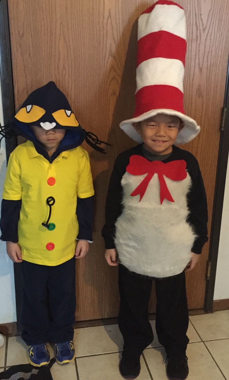 77baec8ac7 Dress like your favorite book character! Pete the cat and cat In the hat!