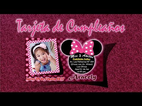 Diseño De Tarjeta De Cumpleaños En Coreldraw X7 Youtube