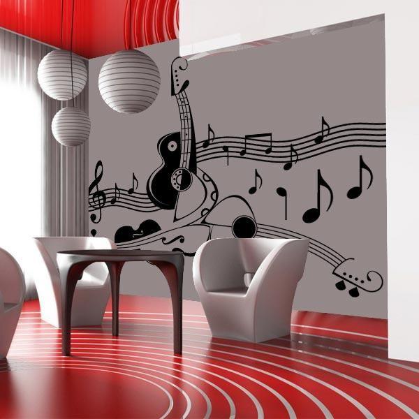 Música en decoración ?? decoracion Pinterest Musica