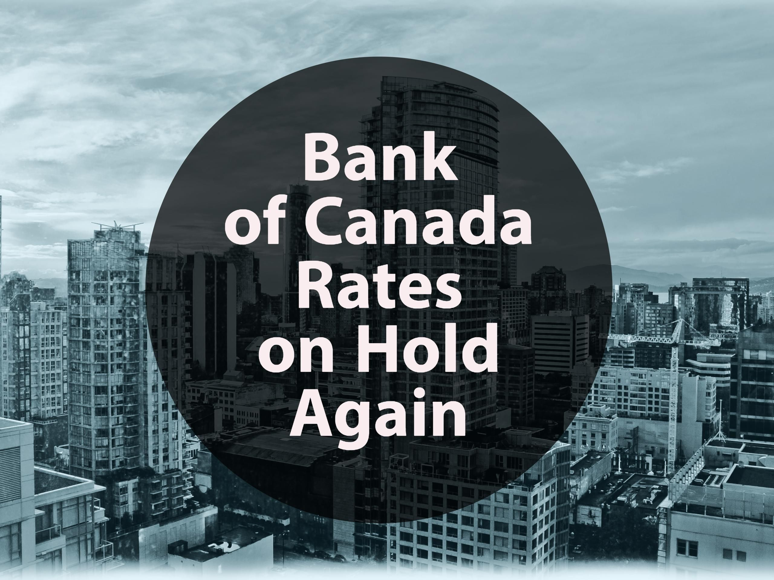 Bank Of Canada Rates On Hold Again Glm Mortgage Group Canada Hold On Mortgage
