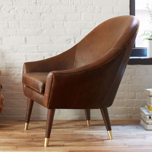 Lovely For Livingroom   Beckett Leather Club Chair