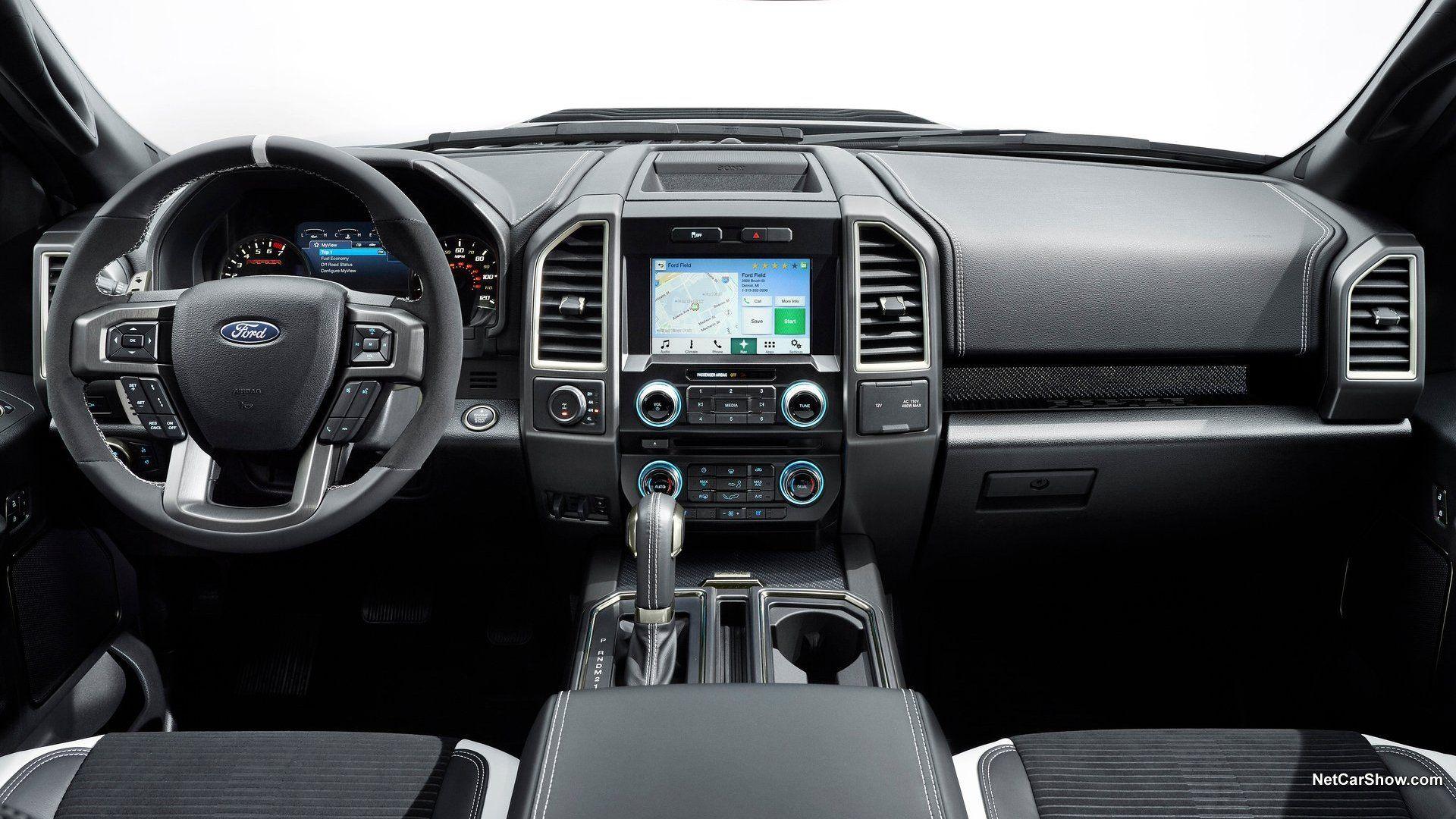 Ford F 150 Raptor 2015 Ford Raptor Ford Ranger Interior Ford