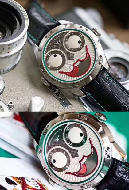 fe5c79340abe Wrist Watches - Ailang Automatic Mechanical waterproof watches for men.  Limited Edition Joker Themed Spiral movement watches.