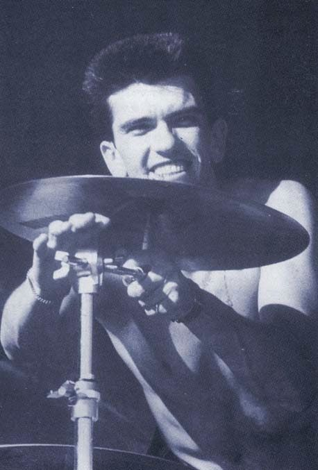 Mike Joyce of The Smiths.