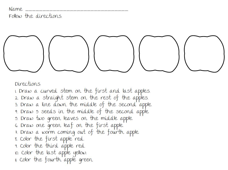 Not very fancy: I love apples   Following directions [ 802 x 1073 Pixel ]