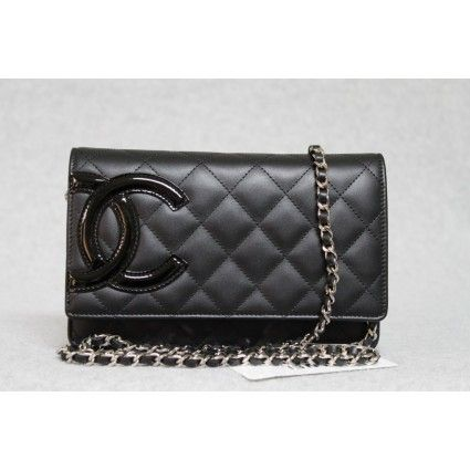 5c3d5b84fcc2 Portero Chanel Cambon Wallet on a chain... Hot pink interior... $2398.00