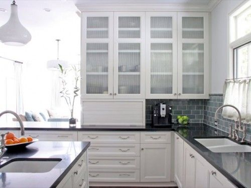 Glass Kitchen Cupboards  Crockery Pantry  With Drawers Fascinating Glass Kitchen Cabinet Doors Inspiration