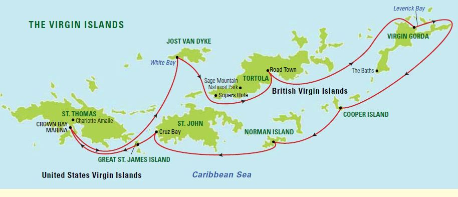 map of british virgin islands google search