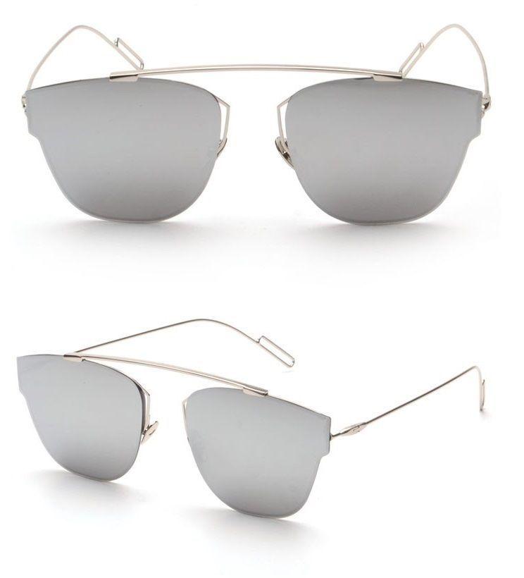 8163efedd8 COMPOSIT 1.0 Mirror Lens Men Women Sunglasses Christian Designer CD  Futuristic +  AviatorFuturisticMirroredLensTopFlat