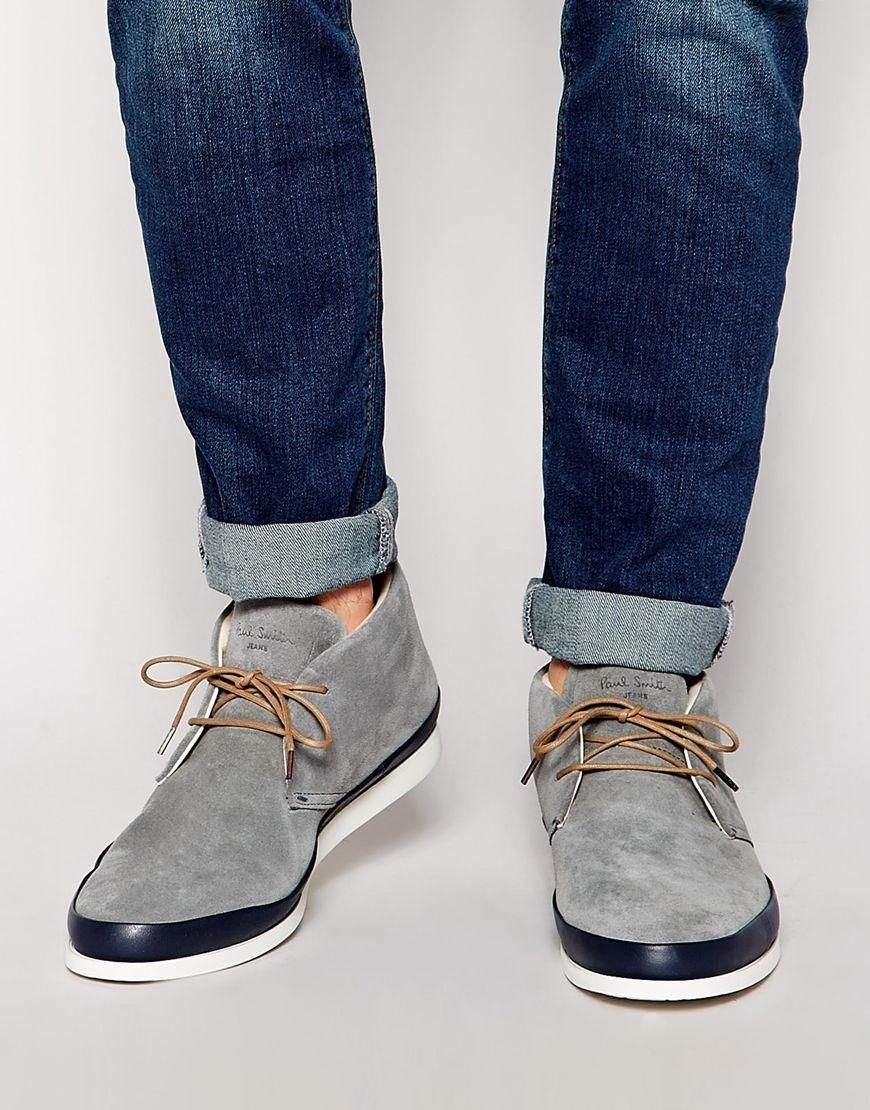 e02f4a3a9fd Paul Smith Jeans | Paul Smith Jeans Loomis Chukka Boots at ASOS ...