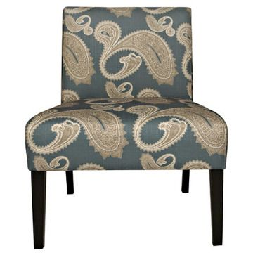 Incroyable Angelo:HOME™ Bradstreet Chair In Feathered French Blue Paisley 2 Pk  Overstock.