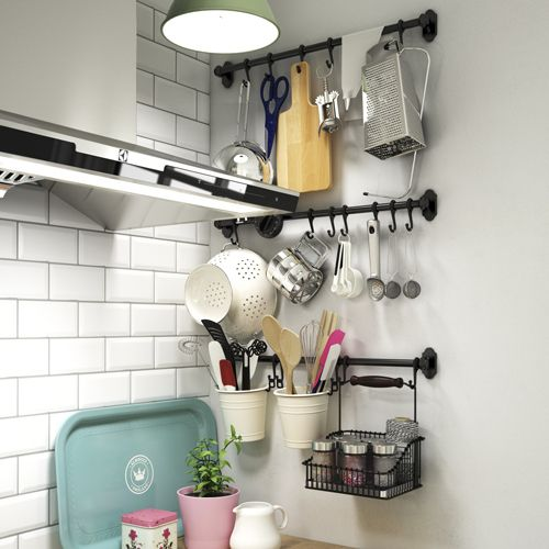 Pin by Veronica on Home Decor | Pinterest | Kitchens, Ikea hack and ...