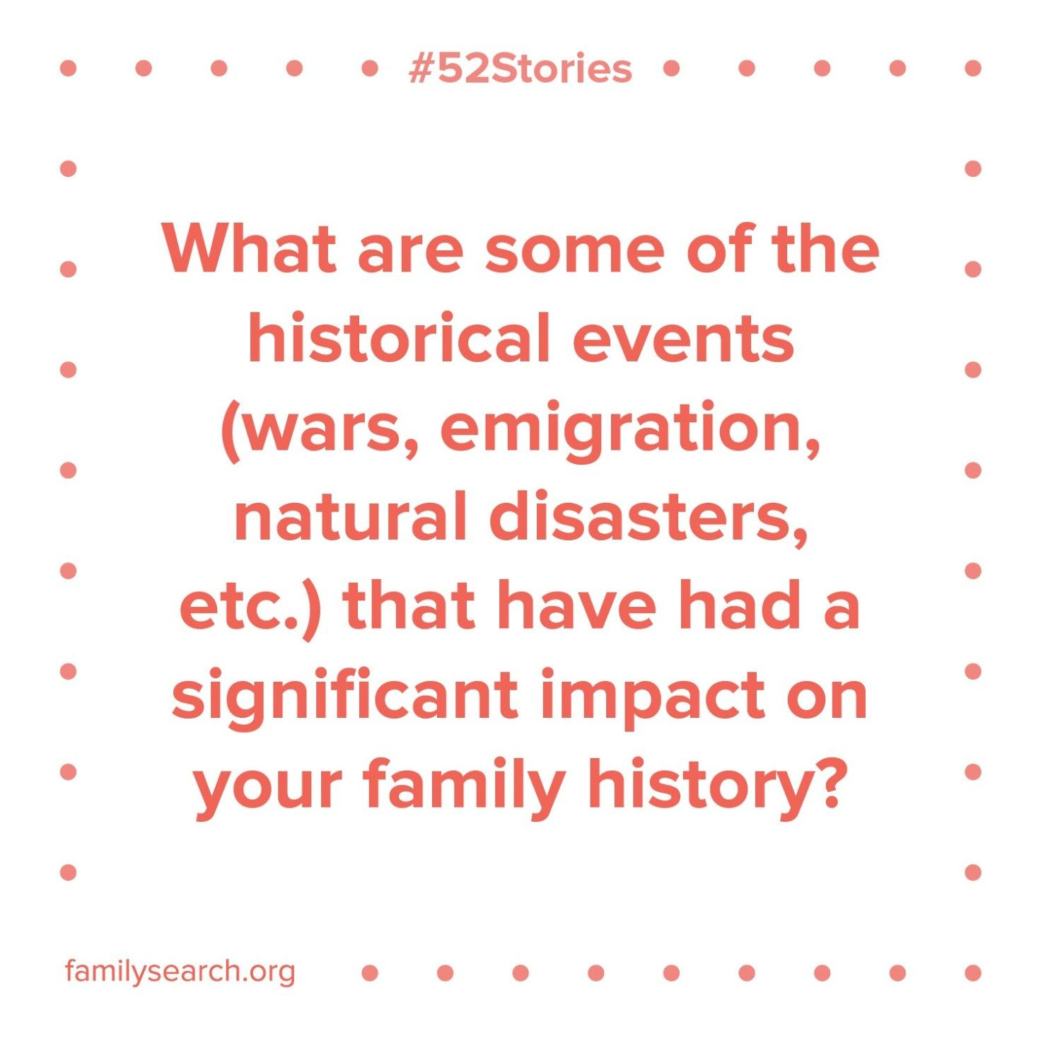 52stories Printables Familysearch