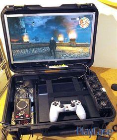 PlayCase V1.5: Modular Portable Console Carrying Case ...