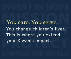 Kiwanis International Foundation Scholarships available