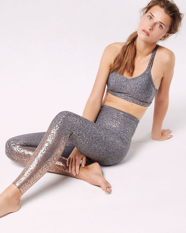 9612ab3a22 Shine at your next sweat sesh in this Beyond Yoga sports bra ...