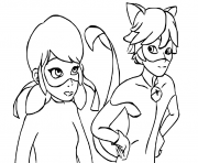 Print Miraculous Ladybug And Cat Noir Kiss Season 1 Coloring Pages Coloring Pages Printable Coloring Pages Free Coloring Pages