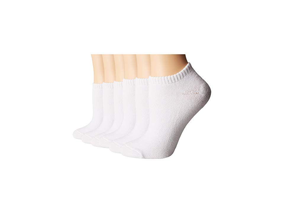 Pree Womens No-Show Athletic Socks 6-Pack