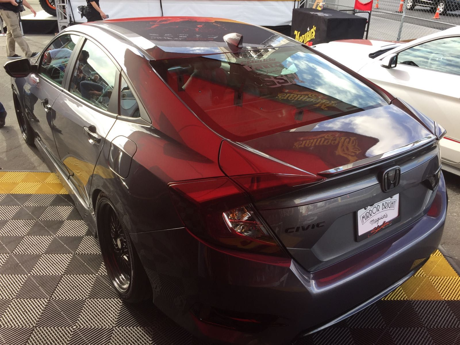 US Honda Civic Sedan at The SEMA Show 2016 (met afbeeldingen)