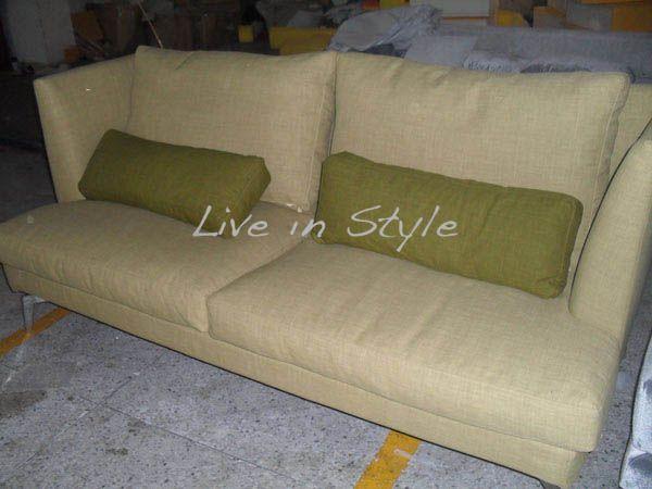 Am9773 Fabric 2 Seater Sofa Sofa Italian Sofa Italian Furniture Design