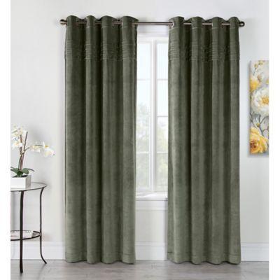 Victorian Grommet Top Window Curtain Panel Curtains Grommet Panels